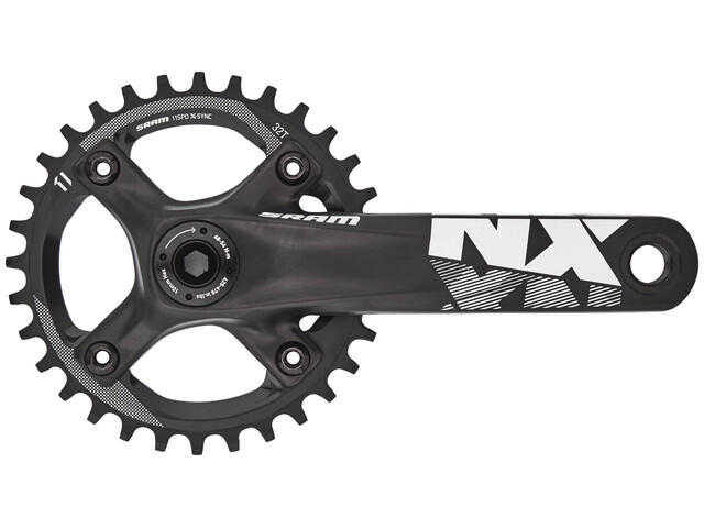 SRAM NX Vevparti 32 Tänder XSYNC BB30 svart